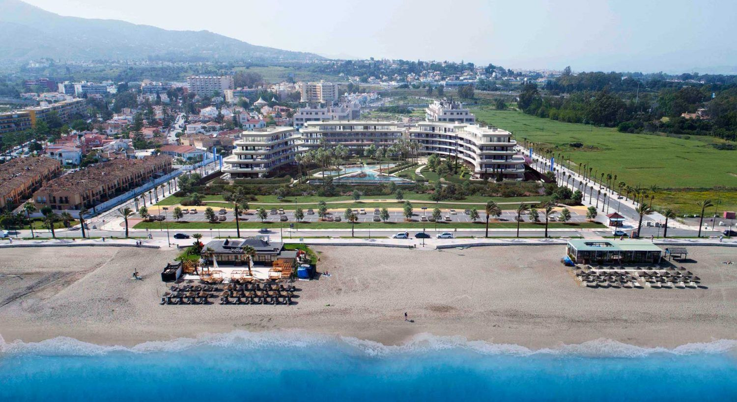 A view of luxury real estate agent in costa del sol